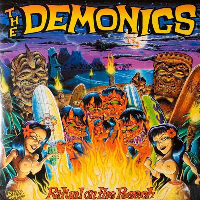 DEMONICS - RITUAL ON THE BEACH (w NIKKI CORVETTE!)  CD
