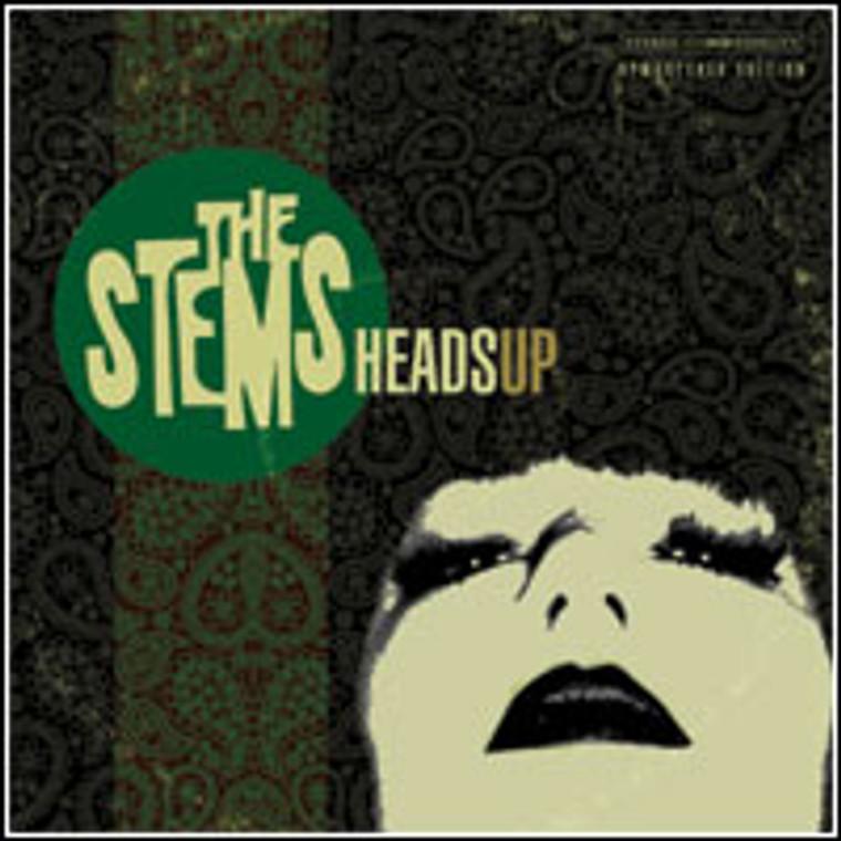STEMS  -HEADS UP(garage punk/powerpop)  CD
