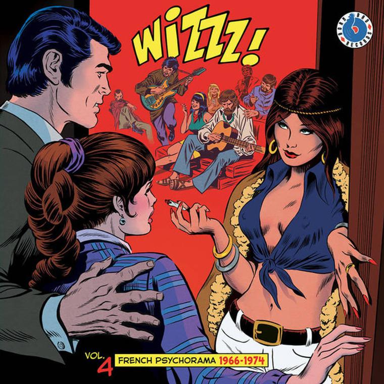 WIZZZ!  - VA Vol. 4 ( French Psychorama 1966-1974) COMP LP