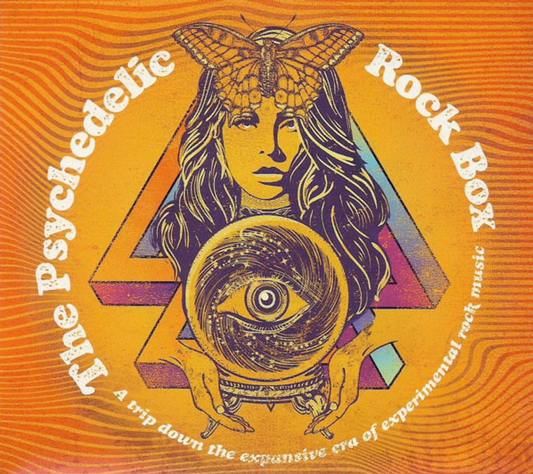 PSYCHEDELIC ROCK BOX -A TRIP DOWN THE EXPANSIVE ERA OF EXPERIMENTAL ROCK MUSIC-(60s psych/pop and obscurities )COMP LP