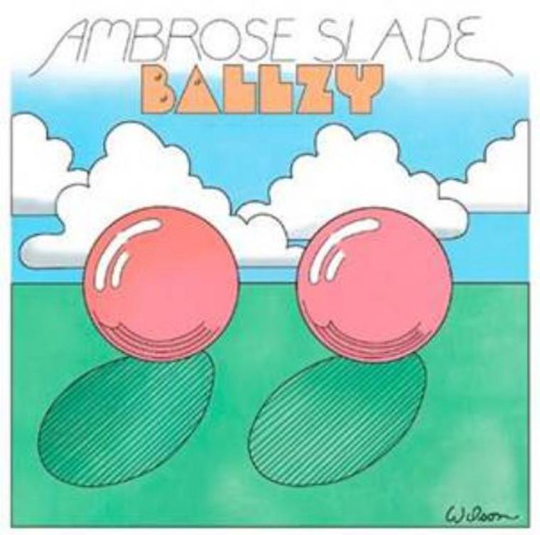 AMBROSE SLADE  -BALLZY (1969 WEst Midlands)   LP