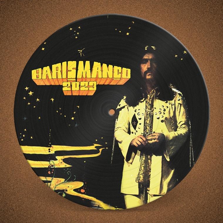 MANCO, BARIS - 2023  (Turkish psych legend) PICTURE DISC ltd to 500-  LP