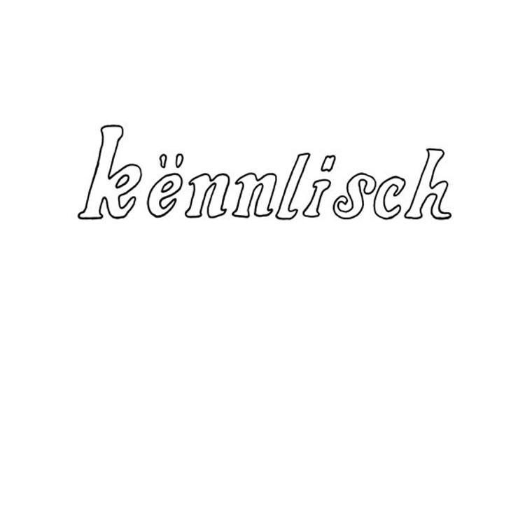 KèNNLISCH  -ST (1976 rarest haunting psych acid folk )  LP