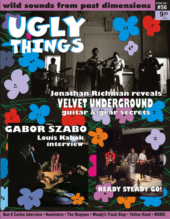 UGLY THINGS  - 56  VELVET UNDERGROUND  -BOOKS & MAGS