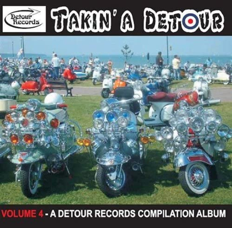 TAKIN' A DETOUR   -VOL. 4 (MORE MOD / GARAGE / PSYCH MADNESS FROM AROUND THE WORLD! ) COMP CD