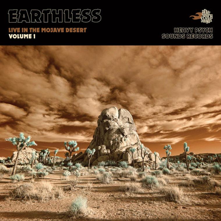 EARTHLESS  -  LIVE IN THE MOJAVE DESERT, VOL. 1-  CD