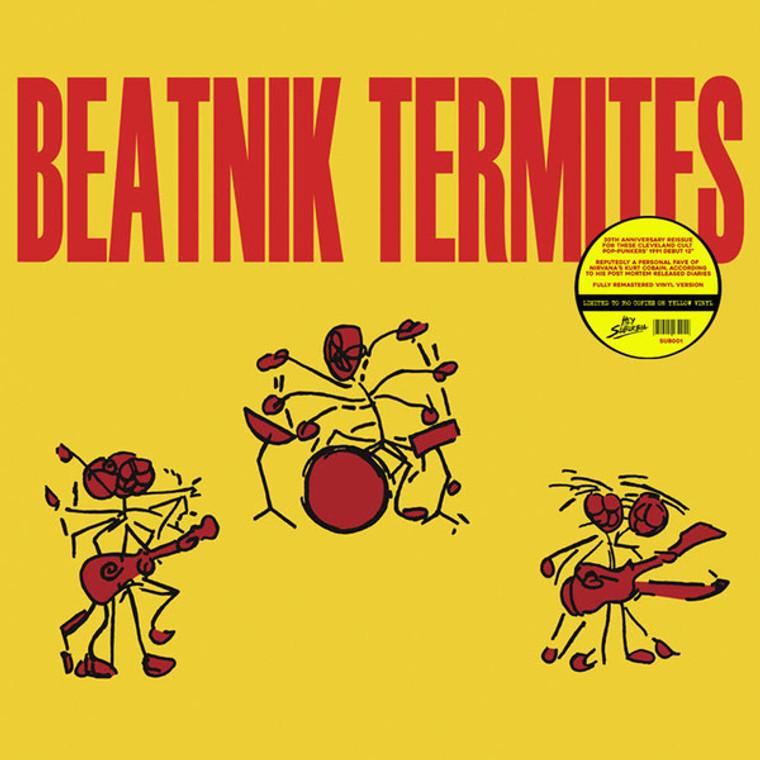 BEATNIK TERMITES   -ST (Cleveland power pop/punk) YELLOW VINYL LP