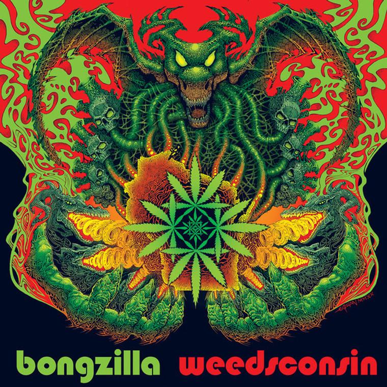 BONGZILLA  - WEEDSCONSIN - stoner psych (SPLATTER)  LP