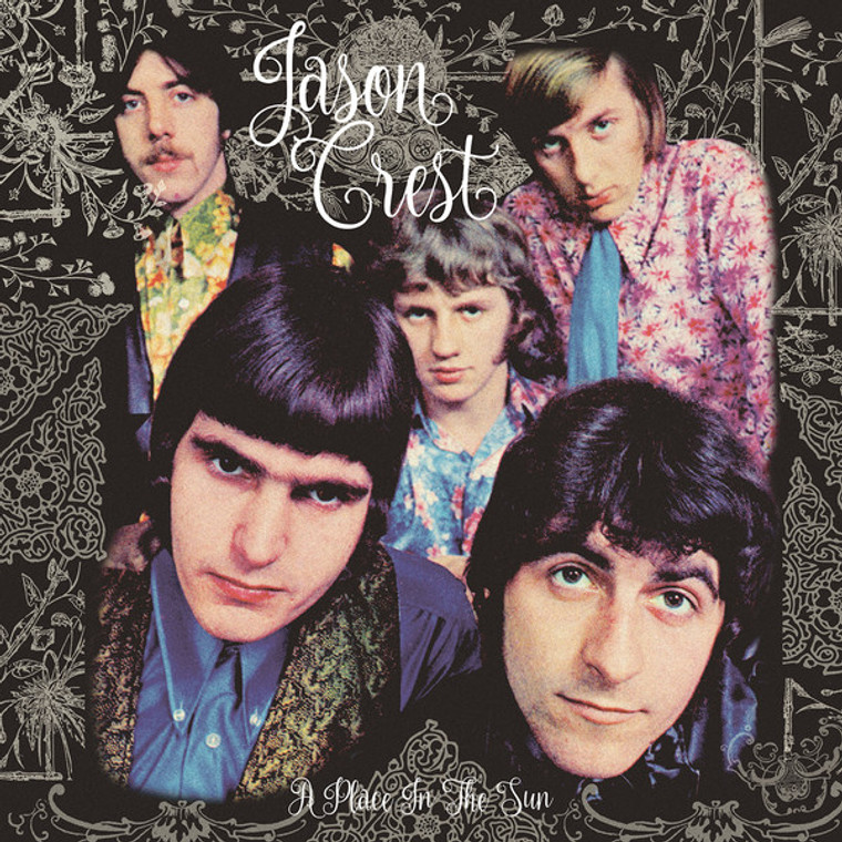 JASON CREST   - A PLACE IN THE SUN (68/69 UK psych pop singles)   LP