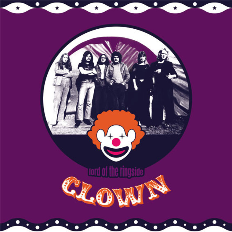 CLOWN  - Lord of the Ringside (70s prog rock rarity)  LP