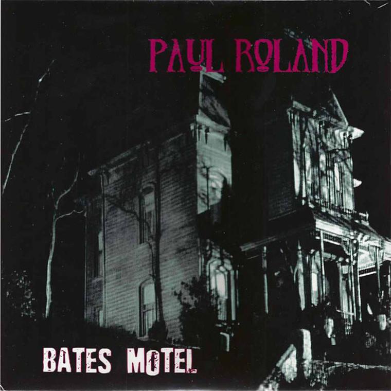 ROLAND, PAUL  -Bates Motel  (Cramps/ 60s psych punk style )LTD ED 180 gram   LP