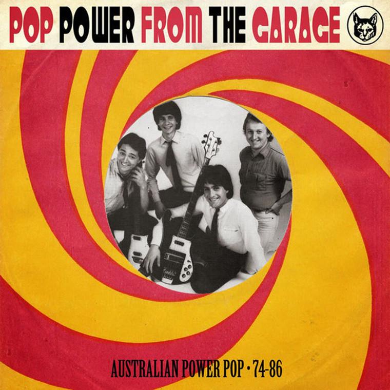 POP POWER FROM THE GARAGE  -22 obscure Australian Power Pop tracks  1974-1986 -COMP  CD