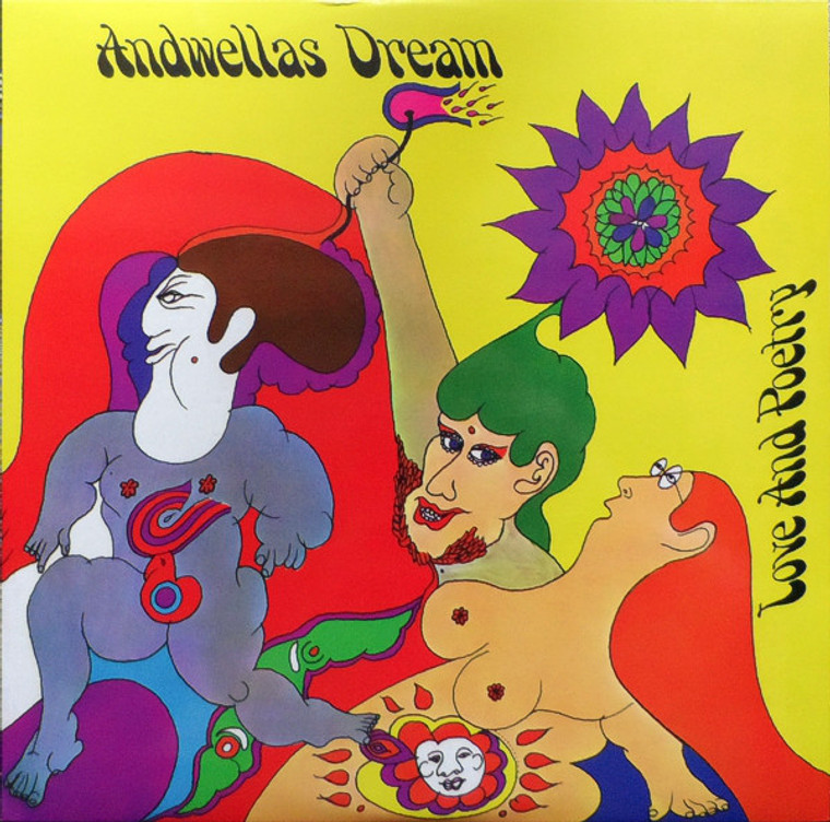 ANDWELLA'S DREAM   - LOVE AND POETRY (1969 freakbeat/psych)  LP