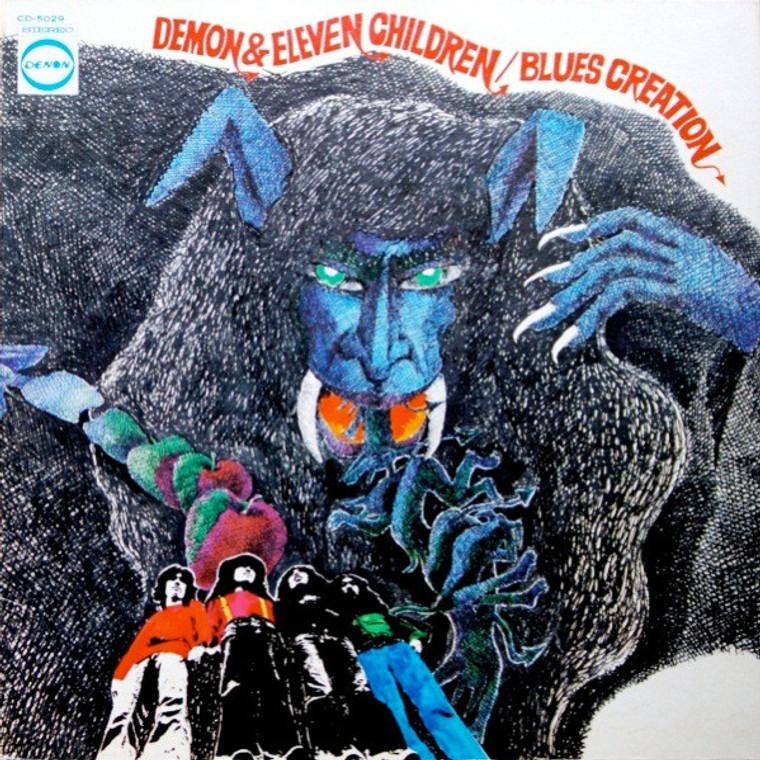 BLUES CREATION  - DEMON & ELEVEN CHILDREN (blues psych 1971)  LP