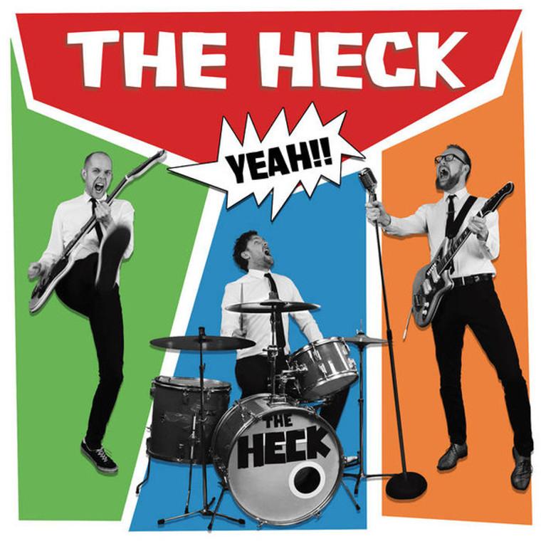 HECK  - HECK YEAH!!( Dutch '60s style garagepunk-trio)  LP