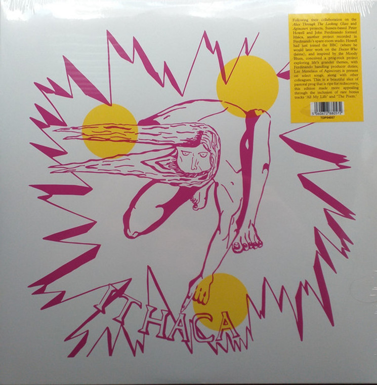 ITHACA  -A GAME FOR ALL WHO KNOW(1972 UK underground psych-folk holy grail)  LP