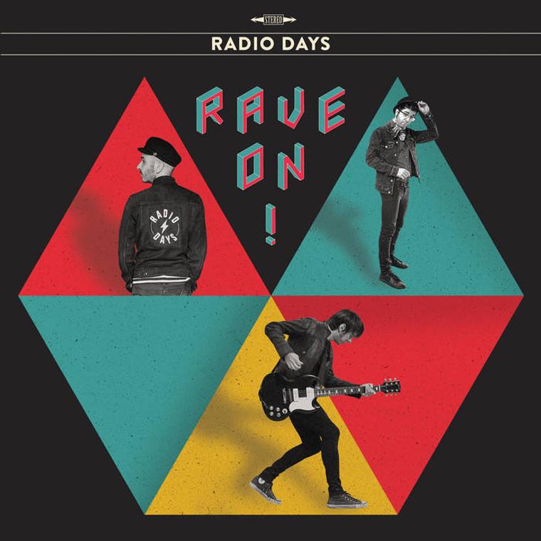 RADIO DAYS   -RAVE ON! (powerpop Plimsouls/Paul COllins style) LP