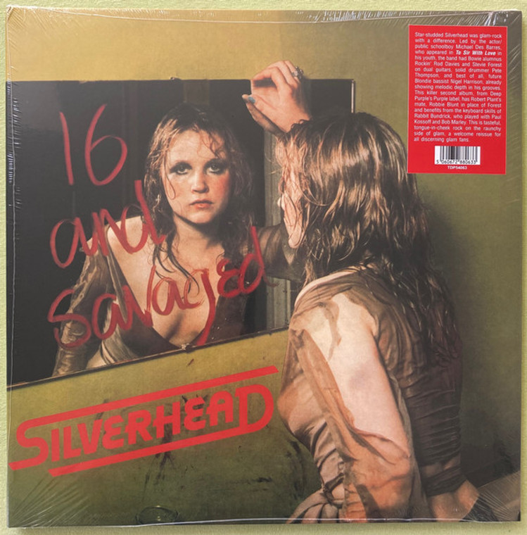 SILVERHEAD   -16 AND SAVAGED (1972 raunchy 70s glam rock, gatefold slv)   LP
