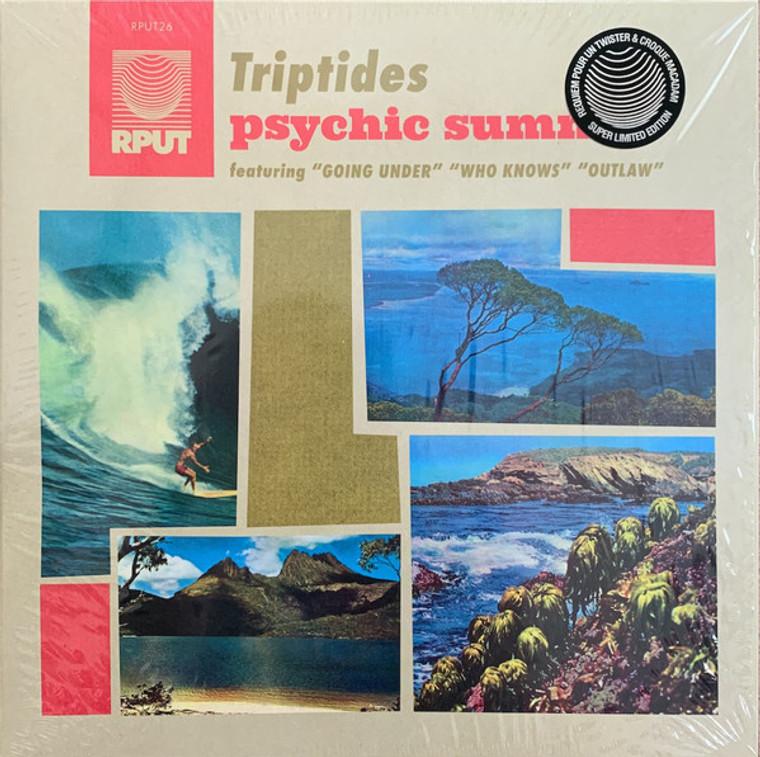 TRIPTIDES   - PSYCHIC SUMMER - RED VINYL LP