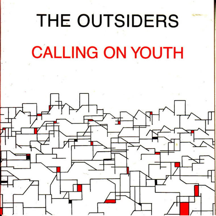 OUTSIDERS (UK)   CALLING ON YOUTH (1977 glam punk) LP