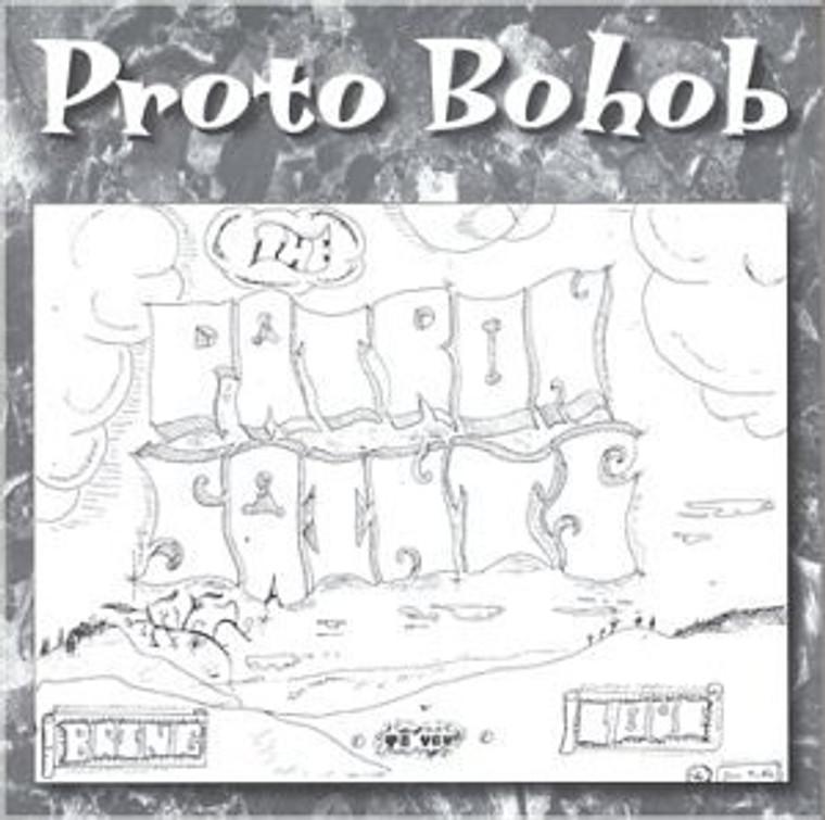 PATRON SAINTS  - Proto Bohob ( rare 1969 private press U.S psych folk- CD