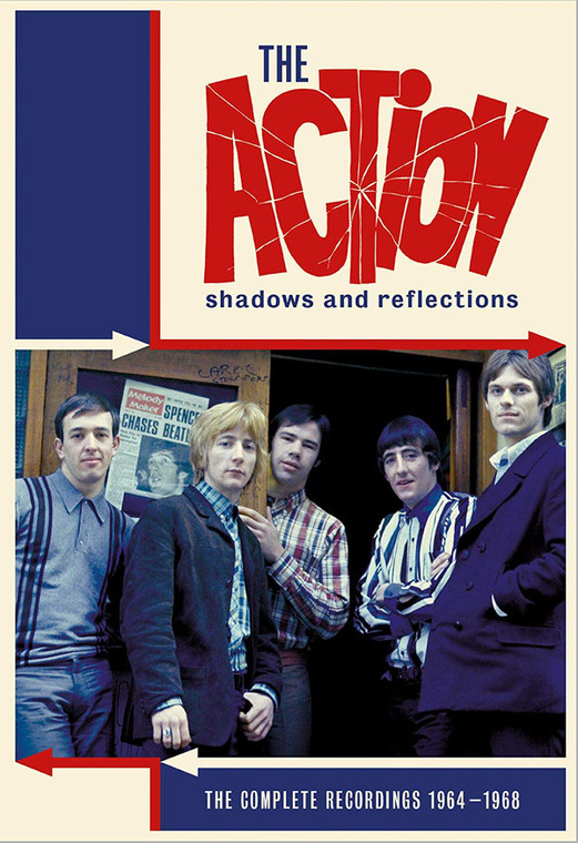 ACTION   -SHADOWS AND REFLECTIONS(4CD BOX THE COMPLETE RECORDINGS 1964-1968)  CD
