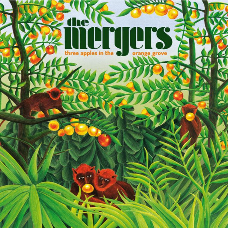 MERGERS   -THREE APPLES IN THE ORANGE GROVE (Brit rock/freakbeat/psych) CD