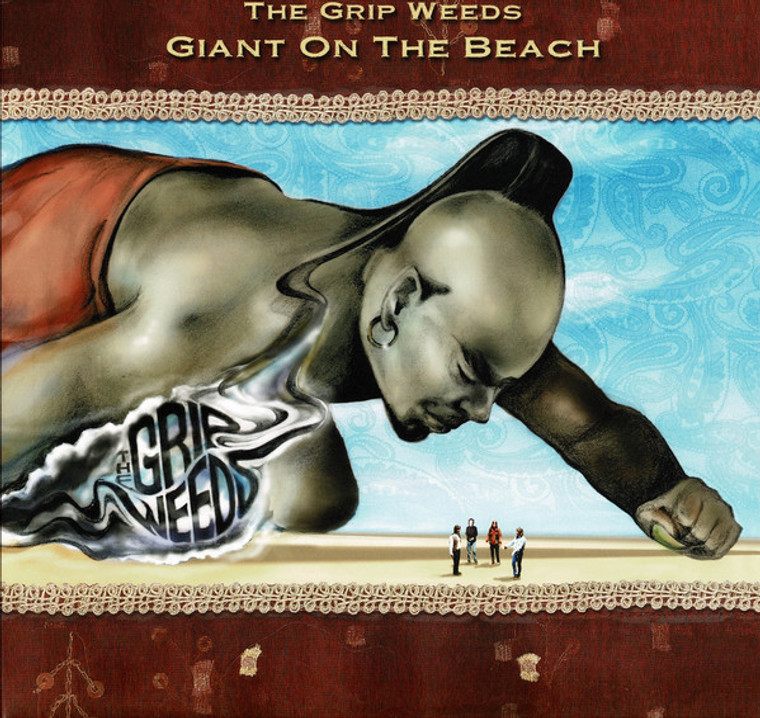 GRIP WEEDS -GIANT ON THE BEACH(Cheap Trick/Byrds/ CSNY) COLOR LP