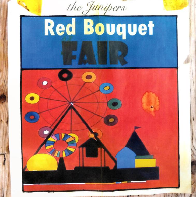 JUNIPERS   -RED BOUQUET FAIR (60s tinged Brit psych pop)BLUE  VINYL  LP