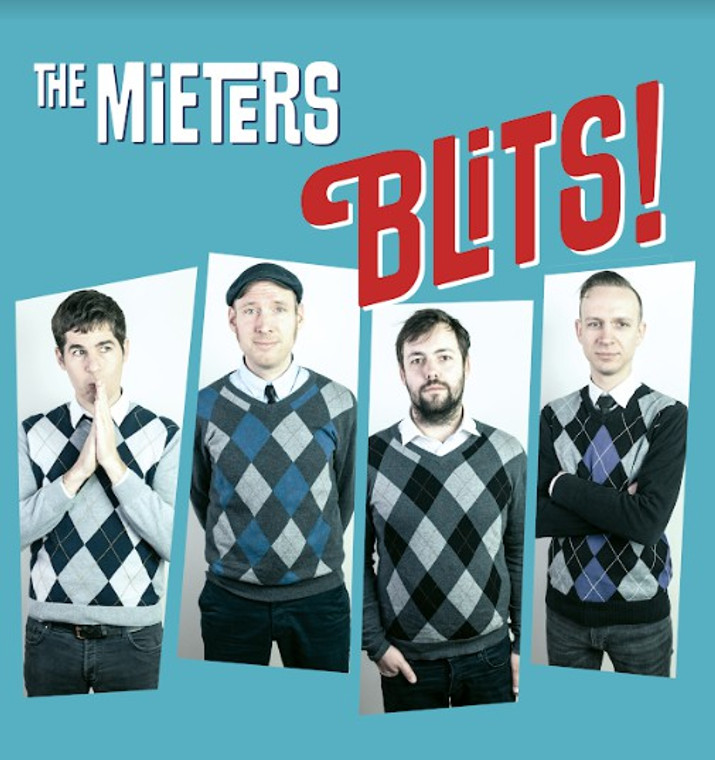 MIETERS  -BLITS!(12 original Nederbeat stompers with a touch of sixties garage rock)  LP