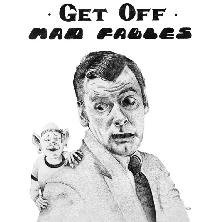 MAD FABLES   - Get Off (70s Dead style)  LP