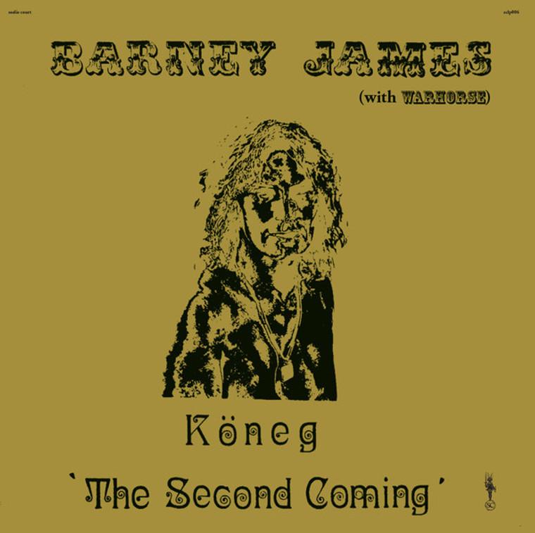 BARNEY JAMES & WARHORSE   - Koneg, The Second Coming (70s lost heavy prog)  GATEFOLD  LP