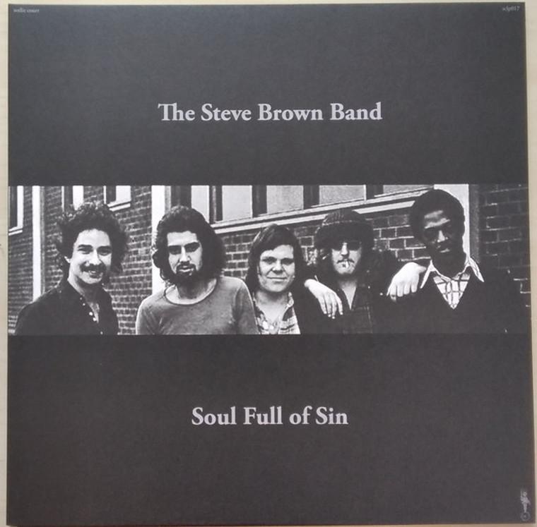 STEVE BROWN BAND  - Soul Full of Sin (70s cool jazz)   LP