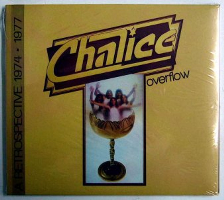 CHALICE  OVERFLOW - A RETROSPECTIVE 1974-1977 (Raspberries/Badfinger/Beach Boys harmonies) cd