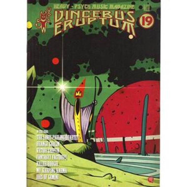 VINCEBUS ERUPTUM  - Vol 19    (Heavy psych/Stoner rock )  BOOKS & MAGS