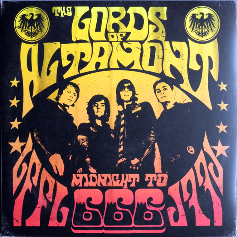 LORDS OF ALTAMONT   -MIDNIGHT TO 666 (MC5, Stooges and Chambers Brothers style)CD
