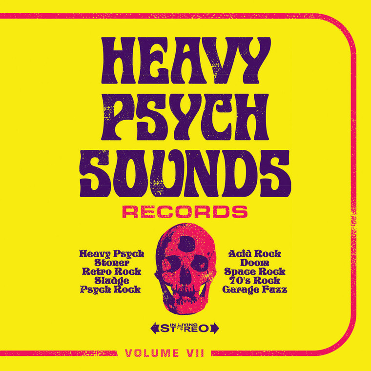 HEAVY PSYCH SOUNDS SAMPLER   - VA Vol VII -COMP CD