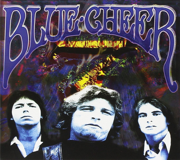 """BLUE CHEER """"-7  (1979- Rare look at the world's first Heavy Metal Blues band!)   CD"""