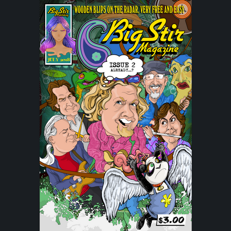 BIG STIR MAGAZINE   #2  BOOKS & MAGS
