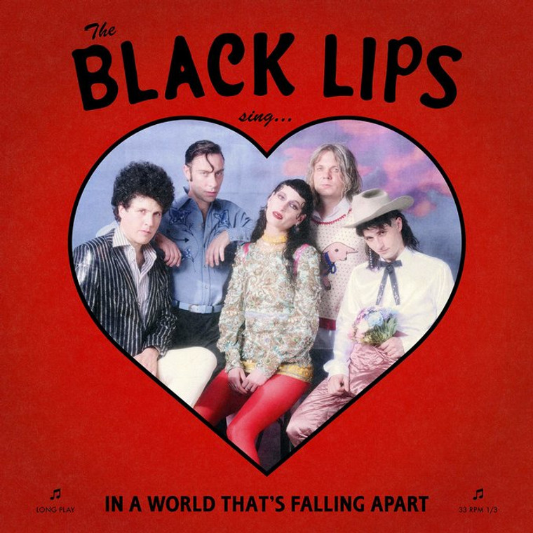 BLACK LIPS   -SING IN A WORLD THAT'S FALLING APART-  CD