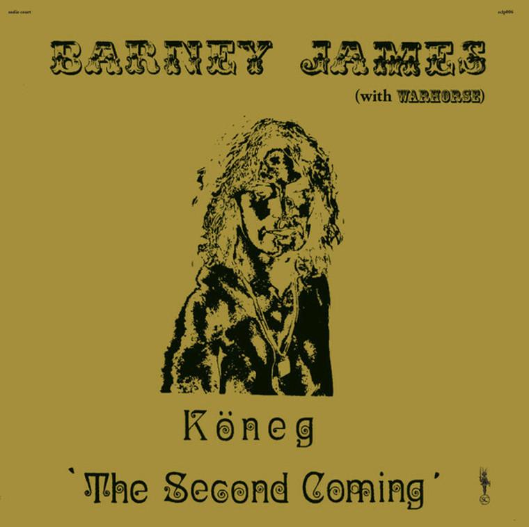JAMES, BARNEY & WARHORSE-  KONEG, THE SECOND COMING-  CD