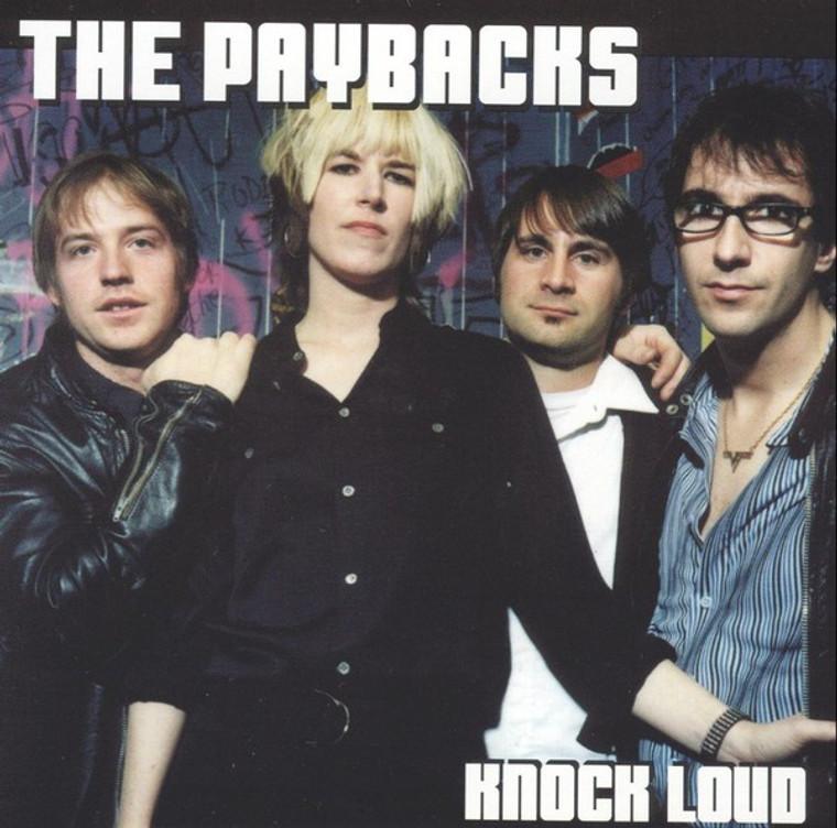 PAYBACKS   - KNOCK LOUD (real-deal Detroit R&R )   CD
