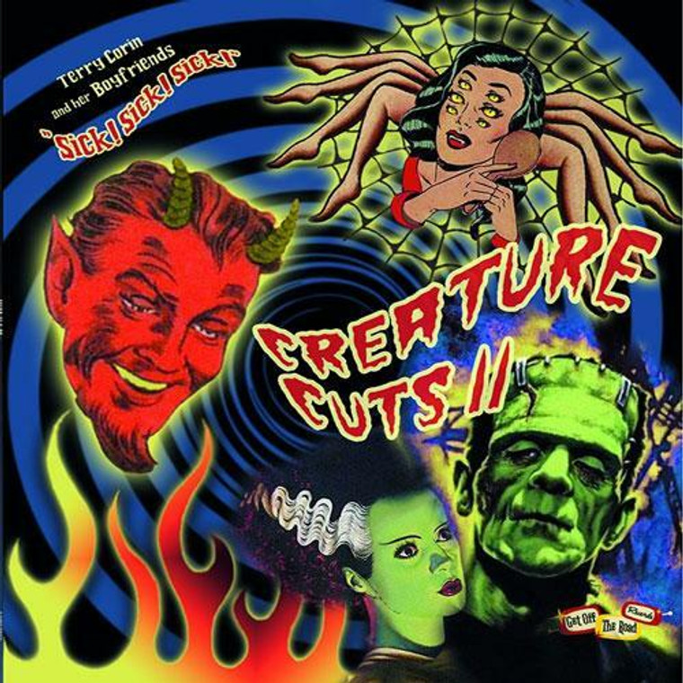 CREATURE CUTS VOL. 2  -fantastic collection of '50s and early/mid '60s obscurities-  COMP LP