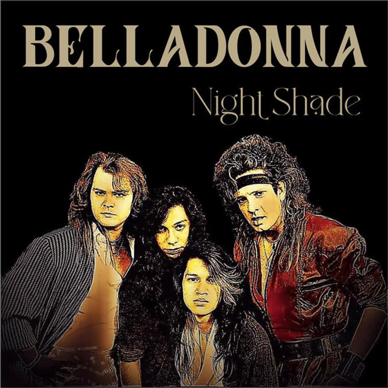BELLADONNA   -Night Shade (Texas metal/hard rock 1990 TEXAS ROCK DYAMONDS SERIES)  CD