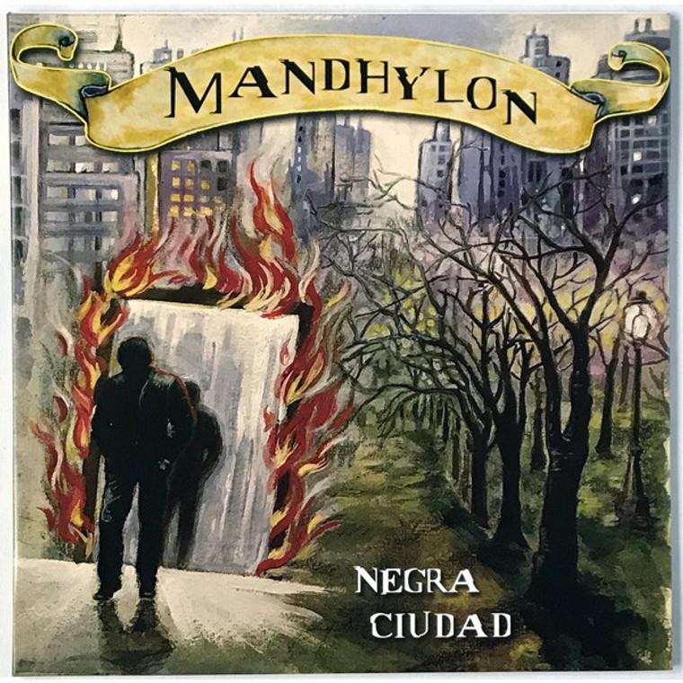 MANDHYLON   -Negra ciudad(68-70 Argentine blues psych)  CD