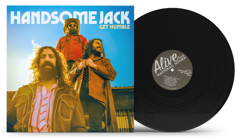 HANDSOME JACK  -  GET HUMBLE - BLACK VINYL LP