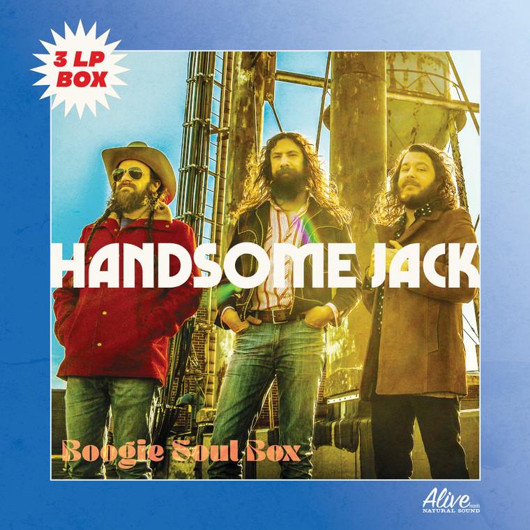 """HANDSOME JACK  -  3 LP """"BOX"""" SET"""