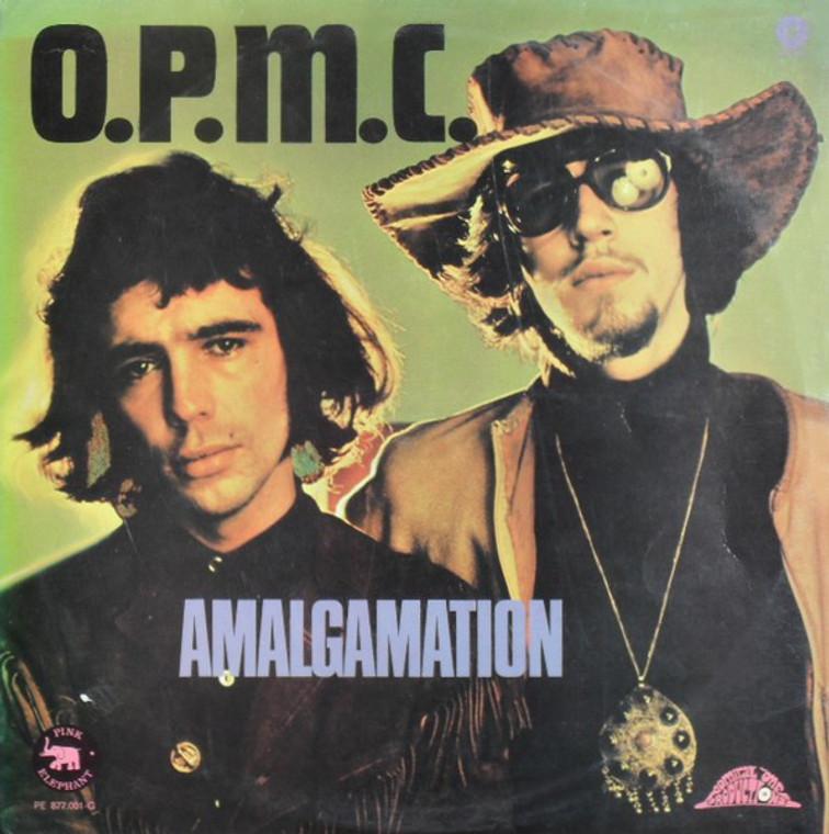 O.P.M.C.   -Amalgamation (1970 acid psych w insert)  LP