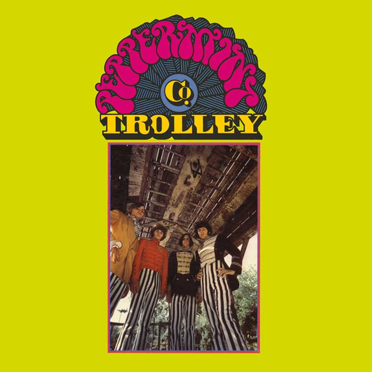 PEPPERMINT TROLLEY CO- ST (1968 Calif. psych/sunshine pop/ folk )LP