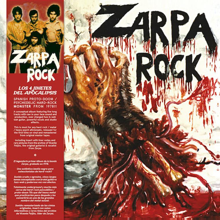 ZARPA  -Los 4 Jinetes del Apocalipsis (1977 heavy acid metal)  LP